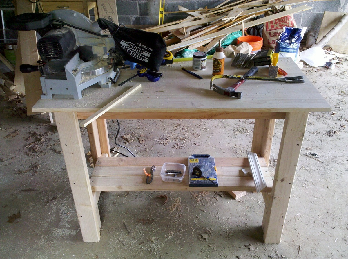 Ana white sturdy work bench diy projects sturdy work bench keyboard keysfo Images