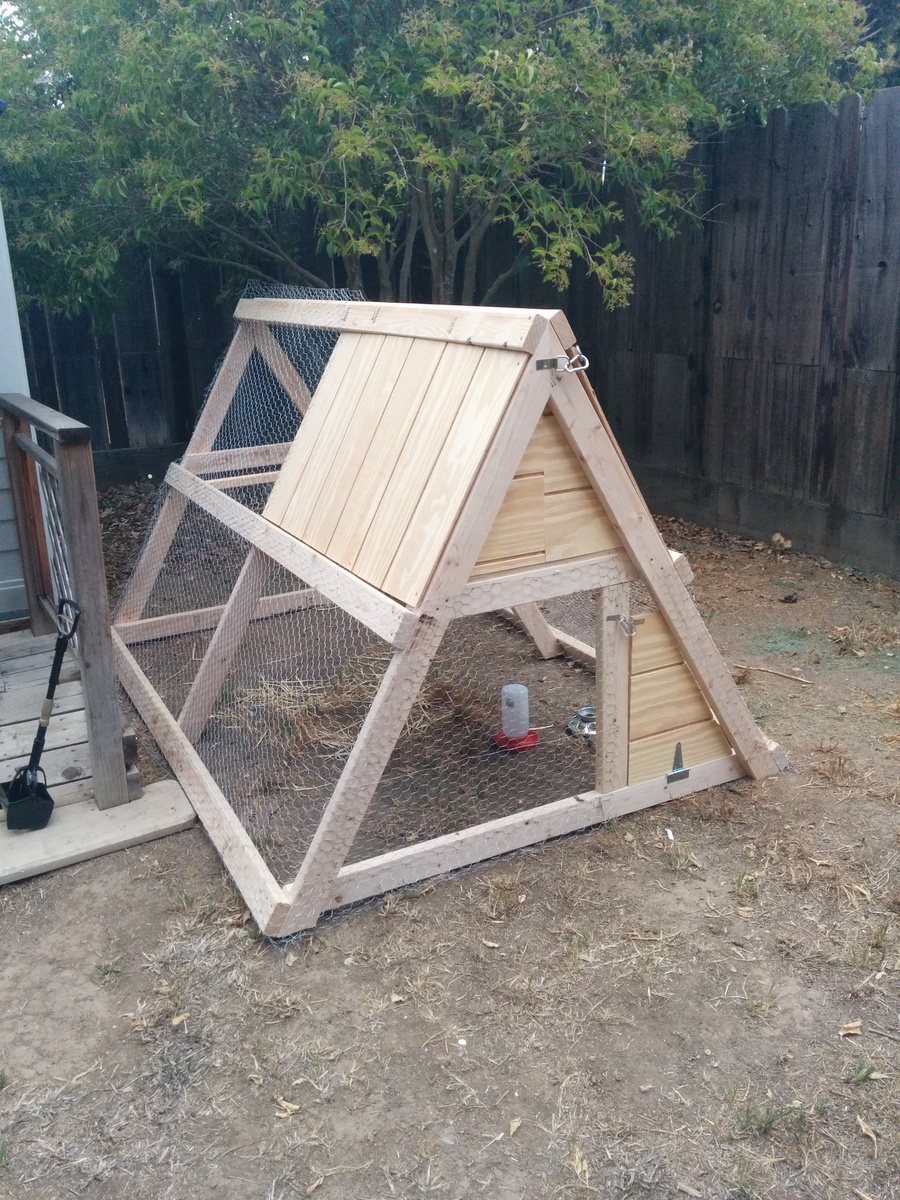 Ana white a frame chicken coop diy projects for Chicken coop plans free pdf