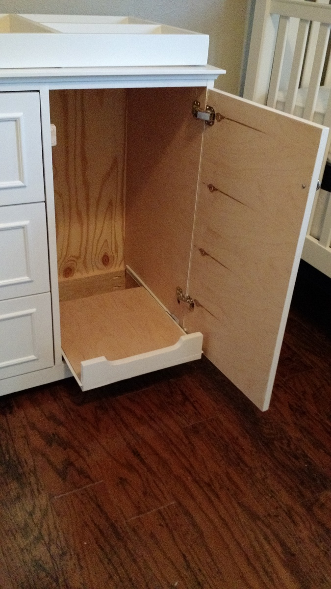 Ana White Changing Table Dresser Diy Projects
