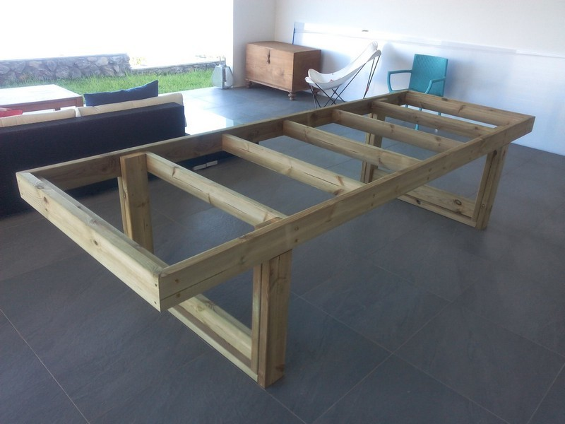 polycarbonate wood table