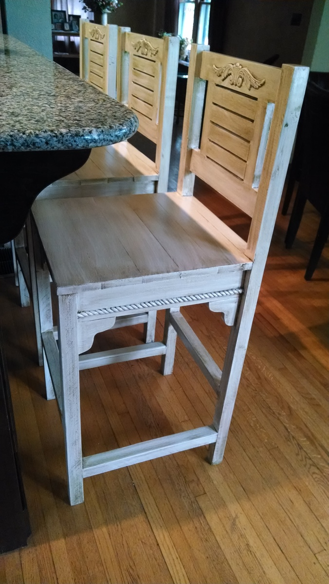 Ana White Upscale Vintage Bar Stools Diy Projects