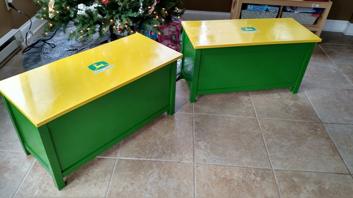Toy Boxes for Nephews & Ana White | Toy Boxes for Nephews - DIY Projects