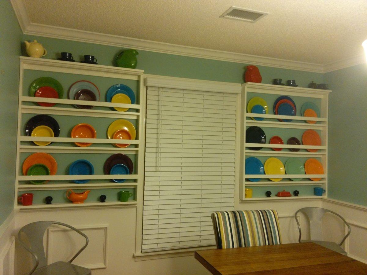 Dining Room Plate Racks Ana White