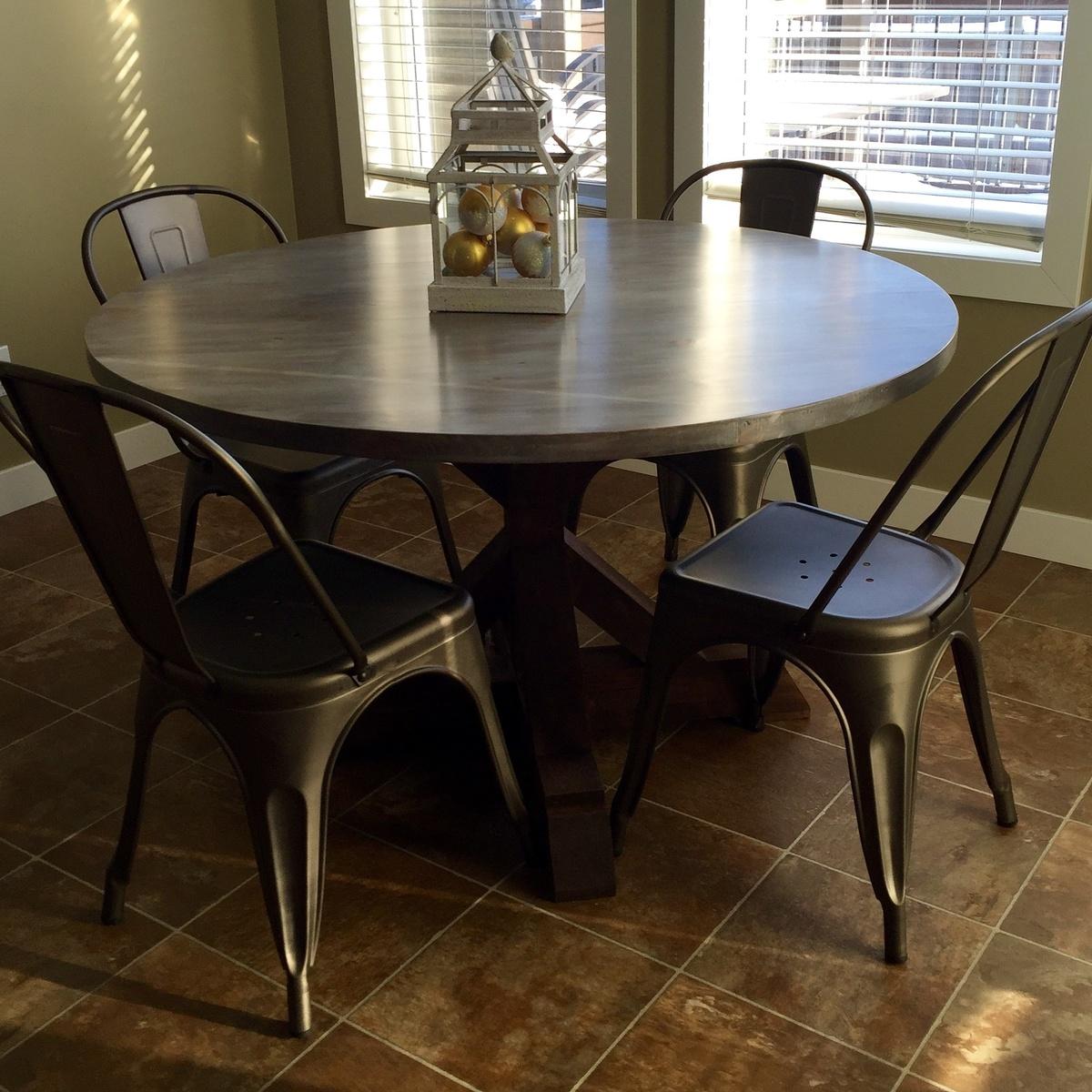 Round X Base Table Ana White