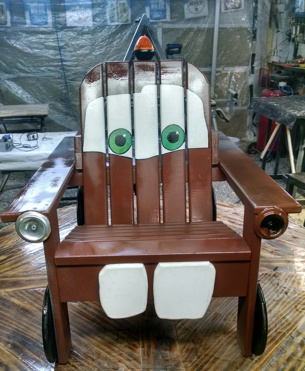 Exceptionnel Tow Mater Adirondack Chair
