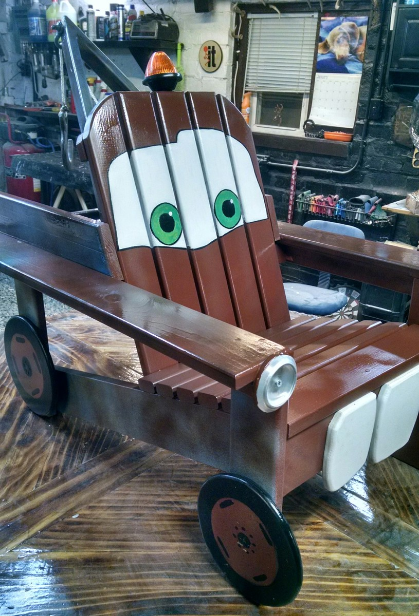 Ana White | Tow Mater Adirondack Chair - DIY Projects