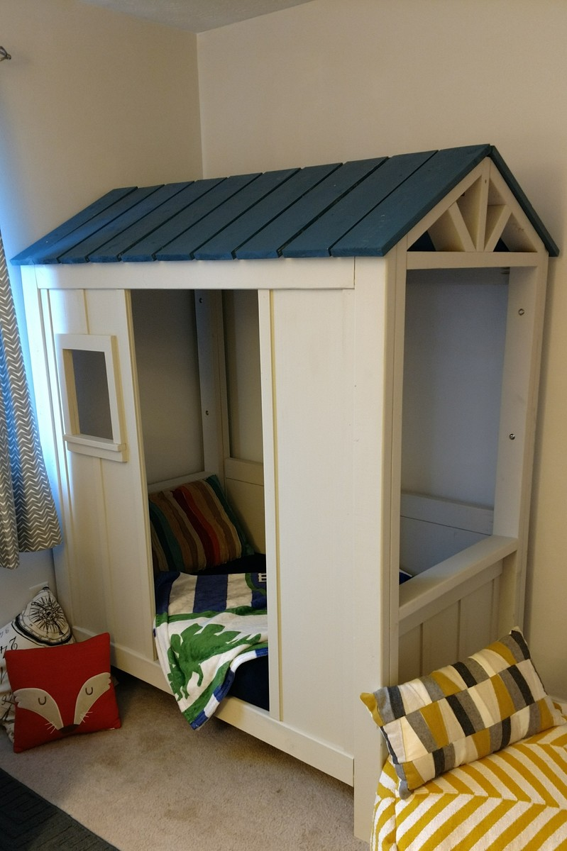 Cabin Bed For Toddler Ana White