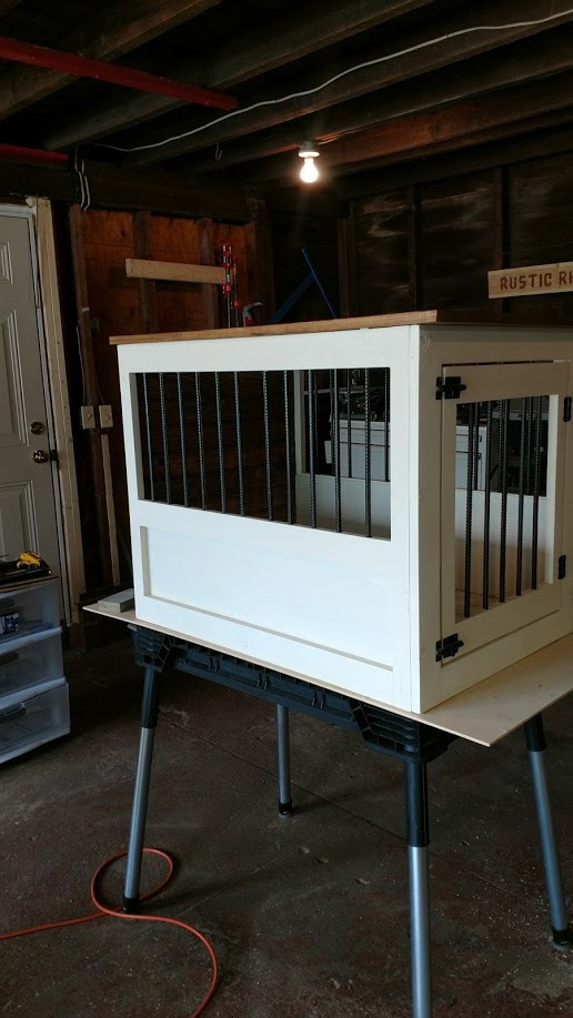 Ana White Dog Crate With A Twist Diy Projects
