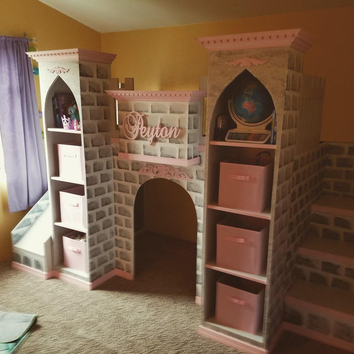 Castle Loft Bed Ana White