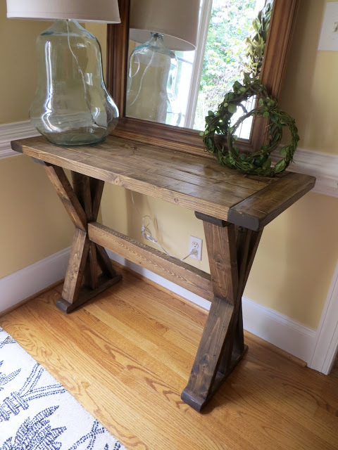 Ana White X Entryway Table Diy Projects