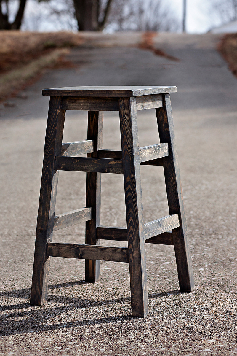 Ana White Simplest Stool Diy Projects