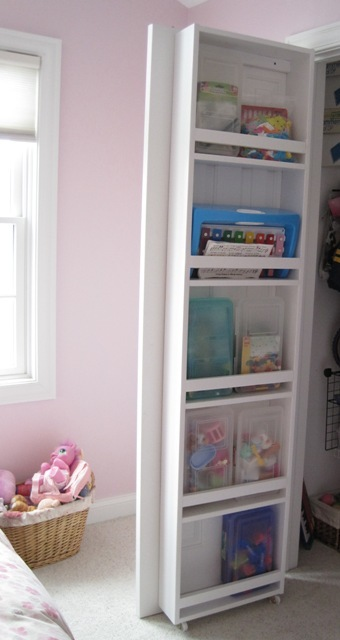 storage closets with doors white closet door with storage diy projects 26866
