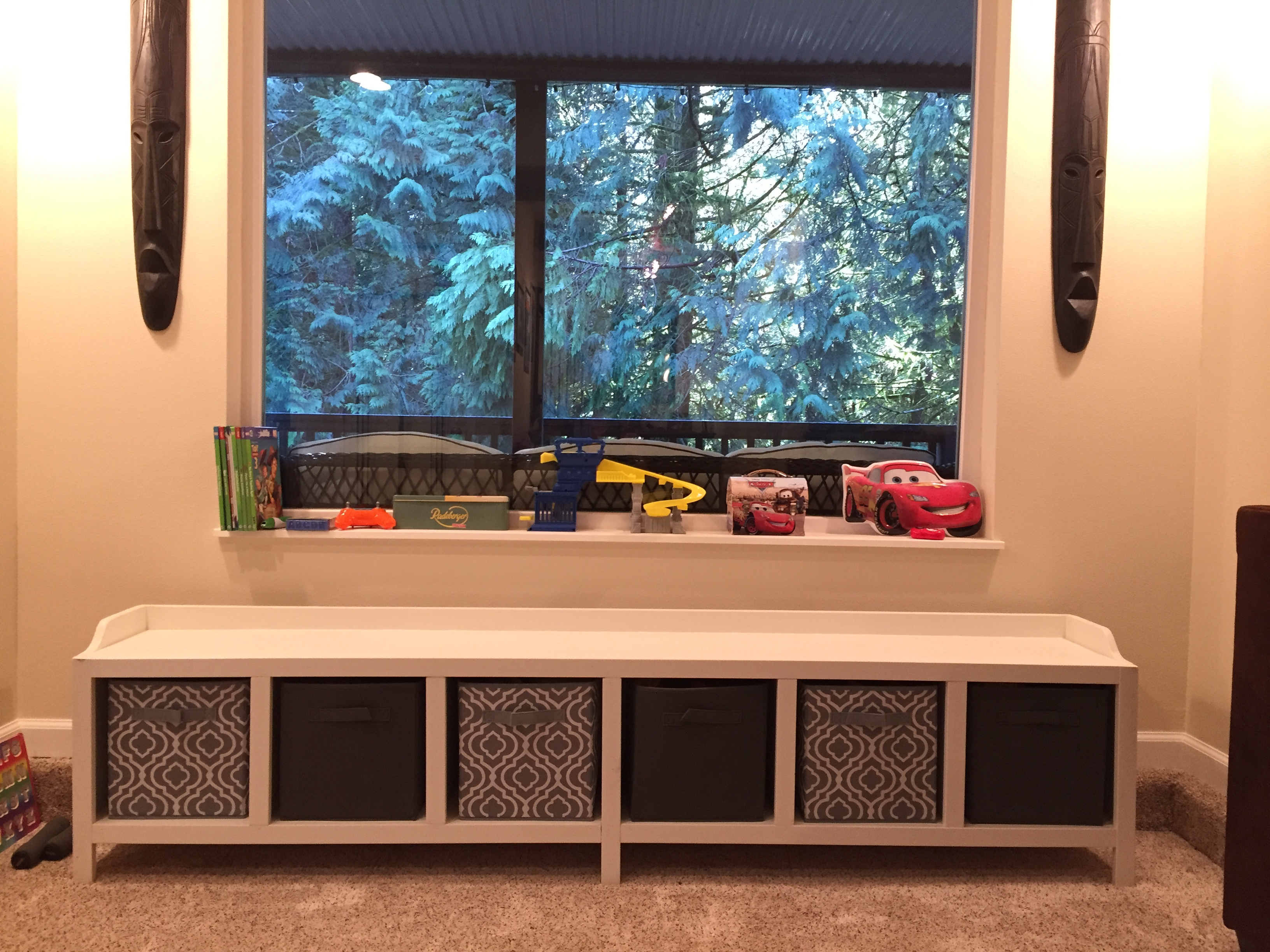Ana White Extended Cubby Bench Diy Projects