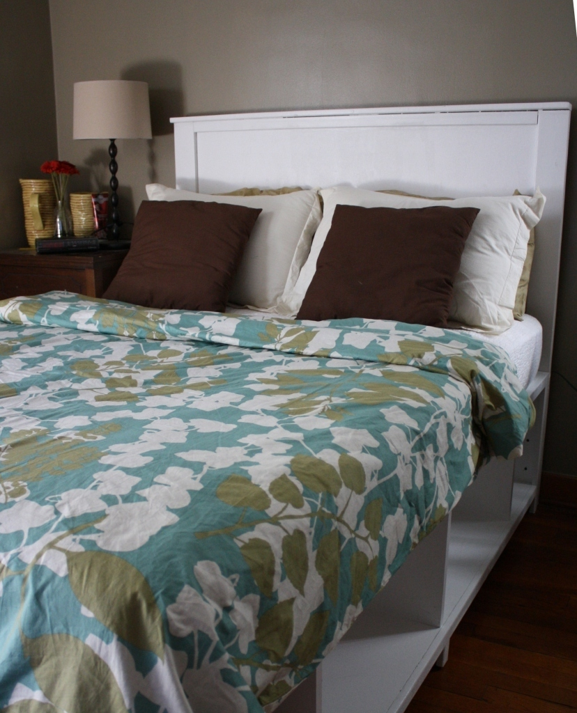 Full Size Hailey Storage Bed - DIY Projects