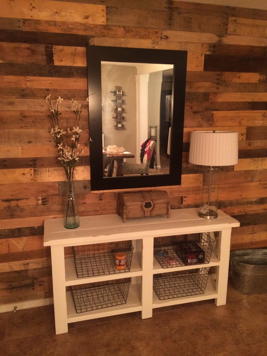 Ana White | Rustic X Entry Table - DIY Projects