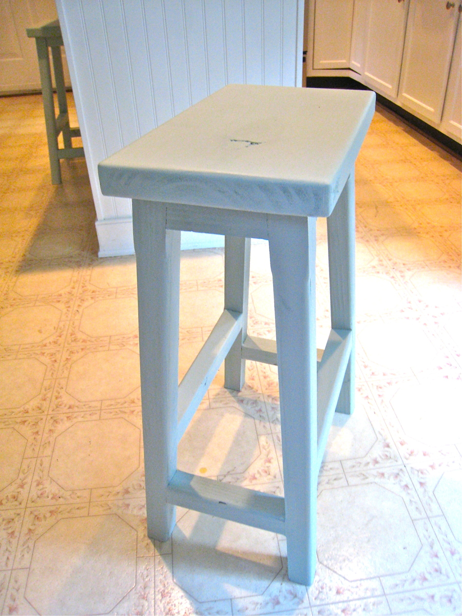 Ana White Simplest Stool Saddle Back Style Diy Projects