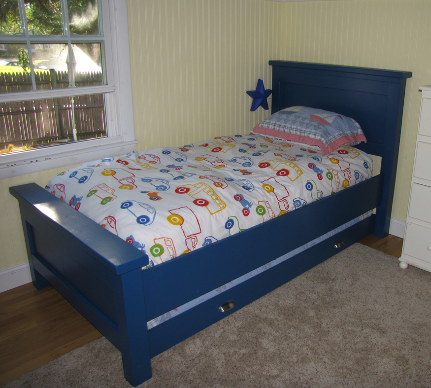 Ana White The Boy S Bed Diy Projects