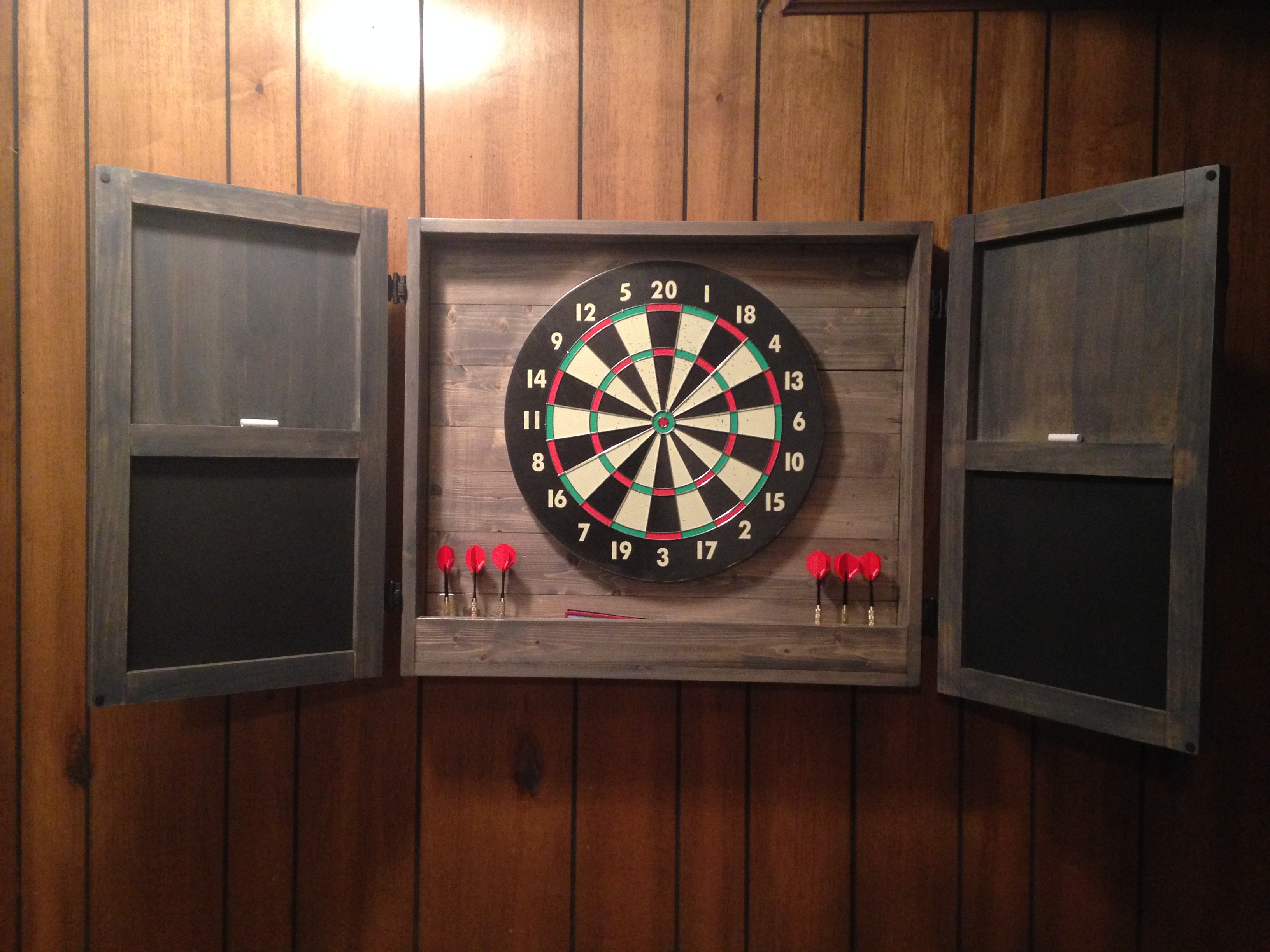 Ana White | Dartboard Cabinet - DIY Projects