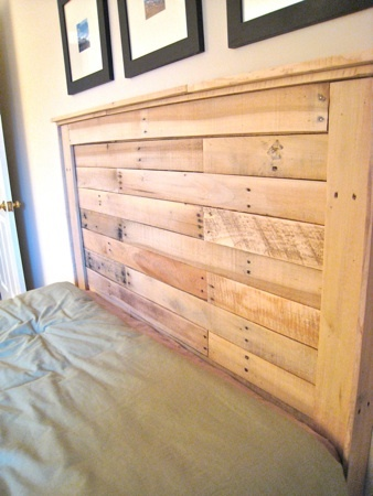 Ana White Reclaimed Wood Headboard From Pallets Diy