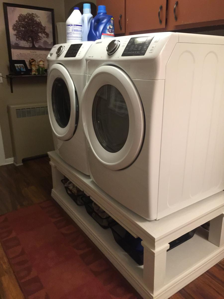 Washer Amp Dryer Pedestal Ana White