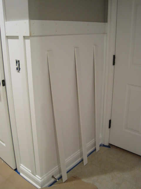 Board Amp Batten In The Laundry Room Ana White Woodworking