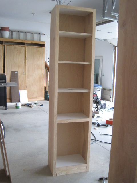 Built In Cabinet And Shelves Ana White Woodworking Projects