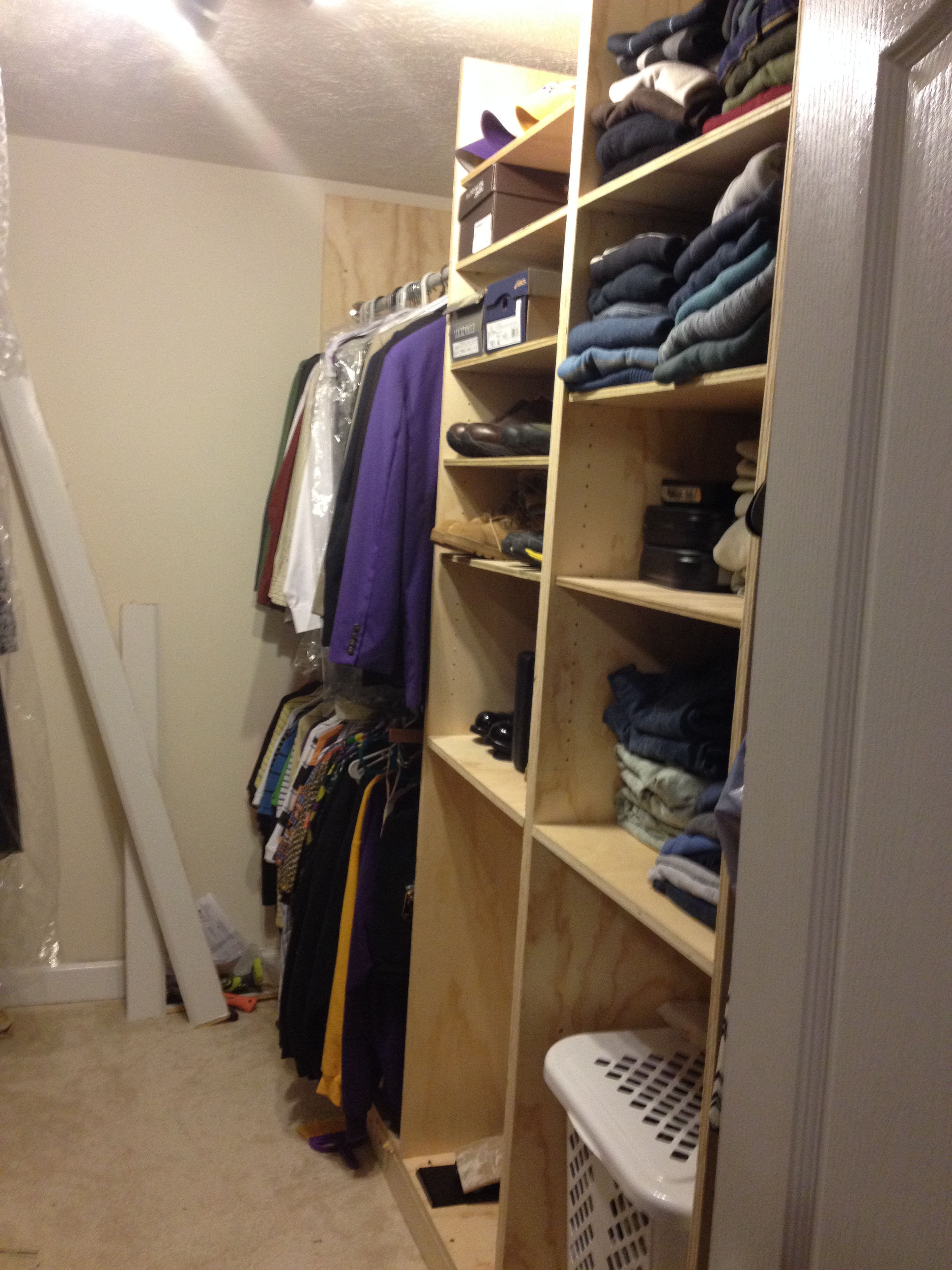 Ana White Master Closet Renovation Diy Projects