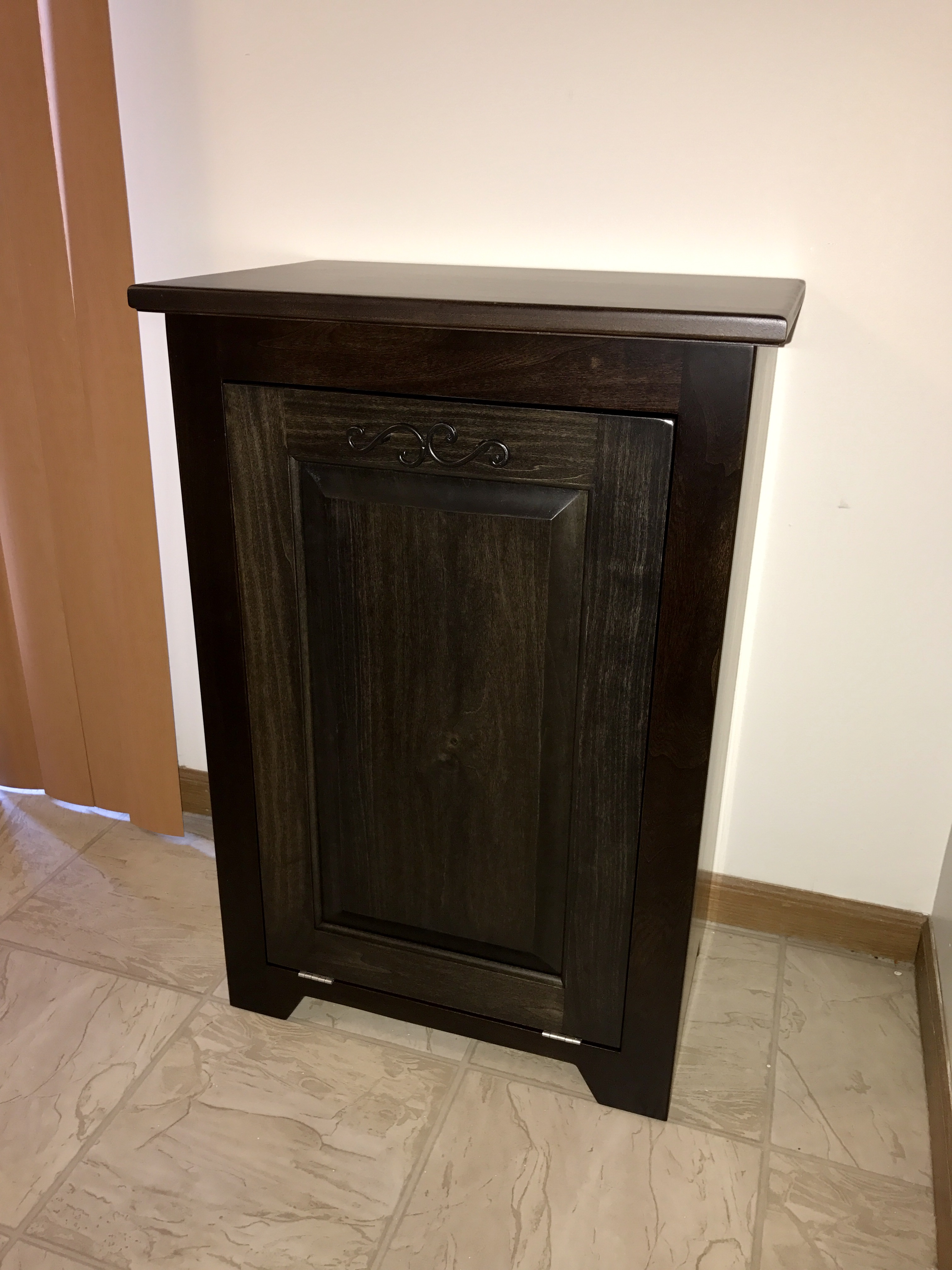 Tilt Out Trash Can Cabinet Ana White