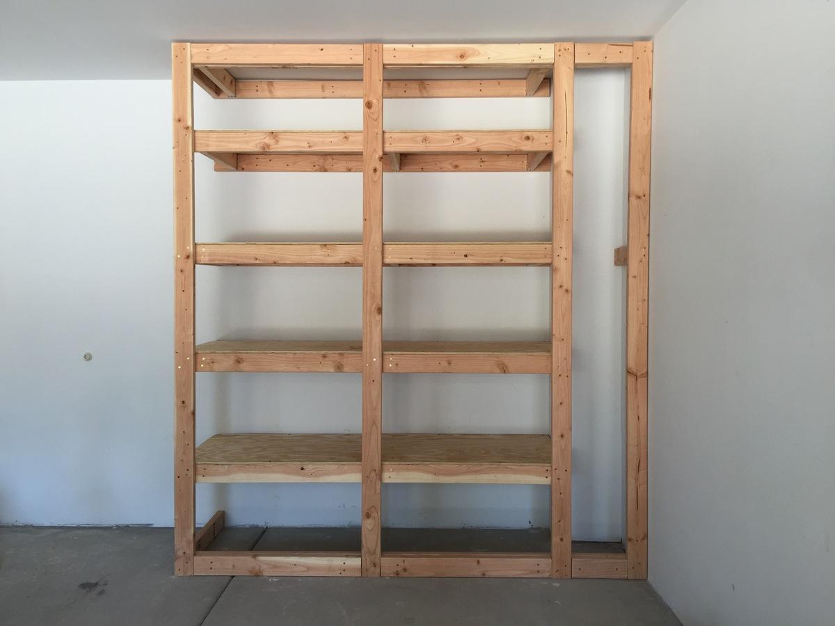 Floor To Ceiling Garage Storage