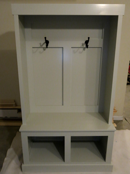 Ana White Mudroom Unit Diy Projects
