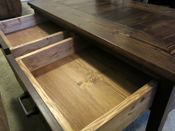 Coffee Table With Two Drawers Ana White