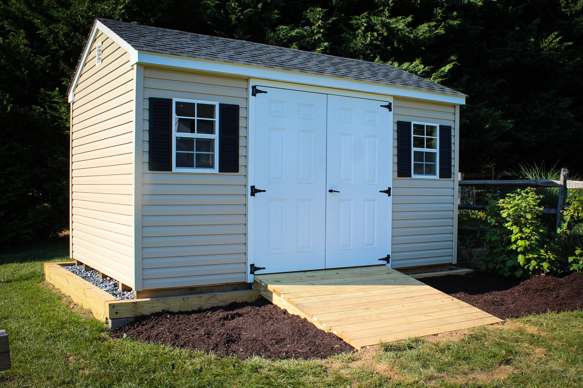 How To Build A Shed Ramp Concrete