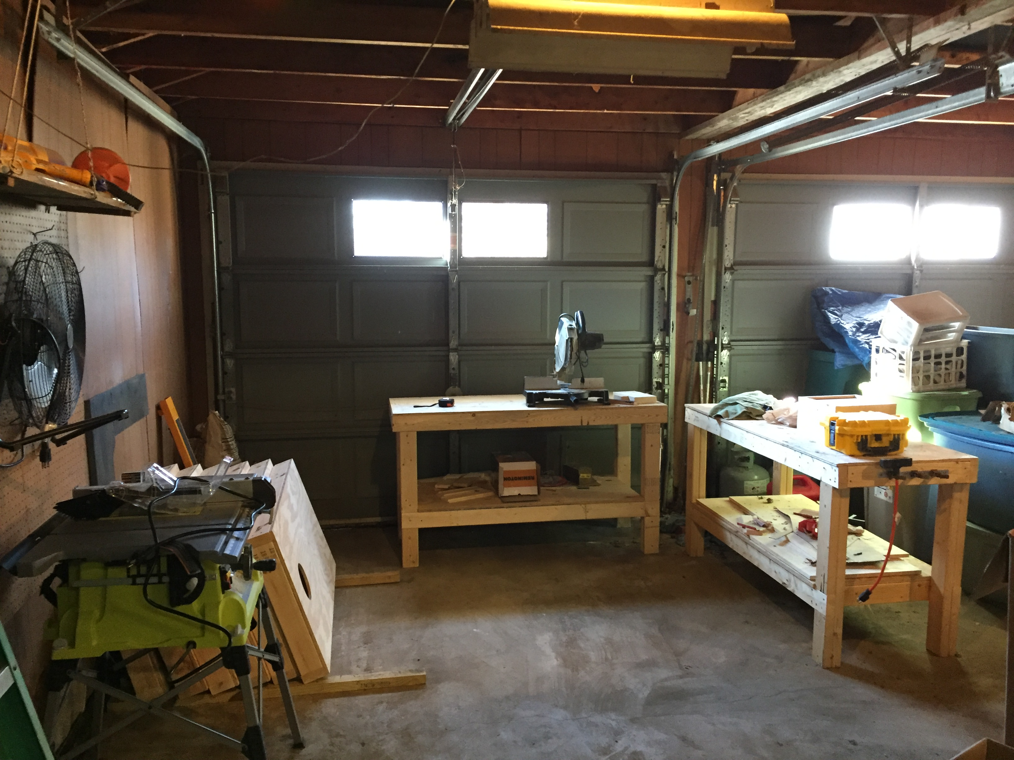 Ana White Simple Workbench Perfect Workshop Addition