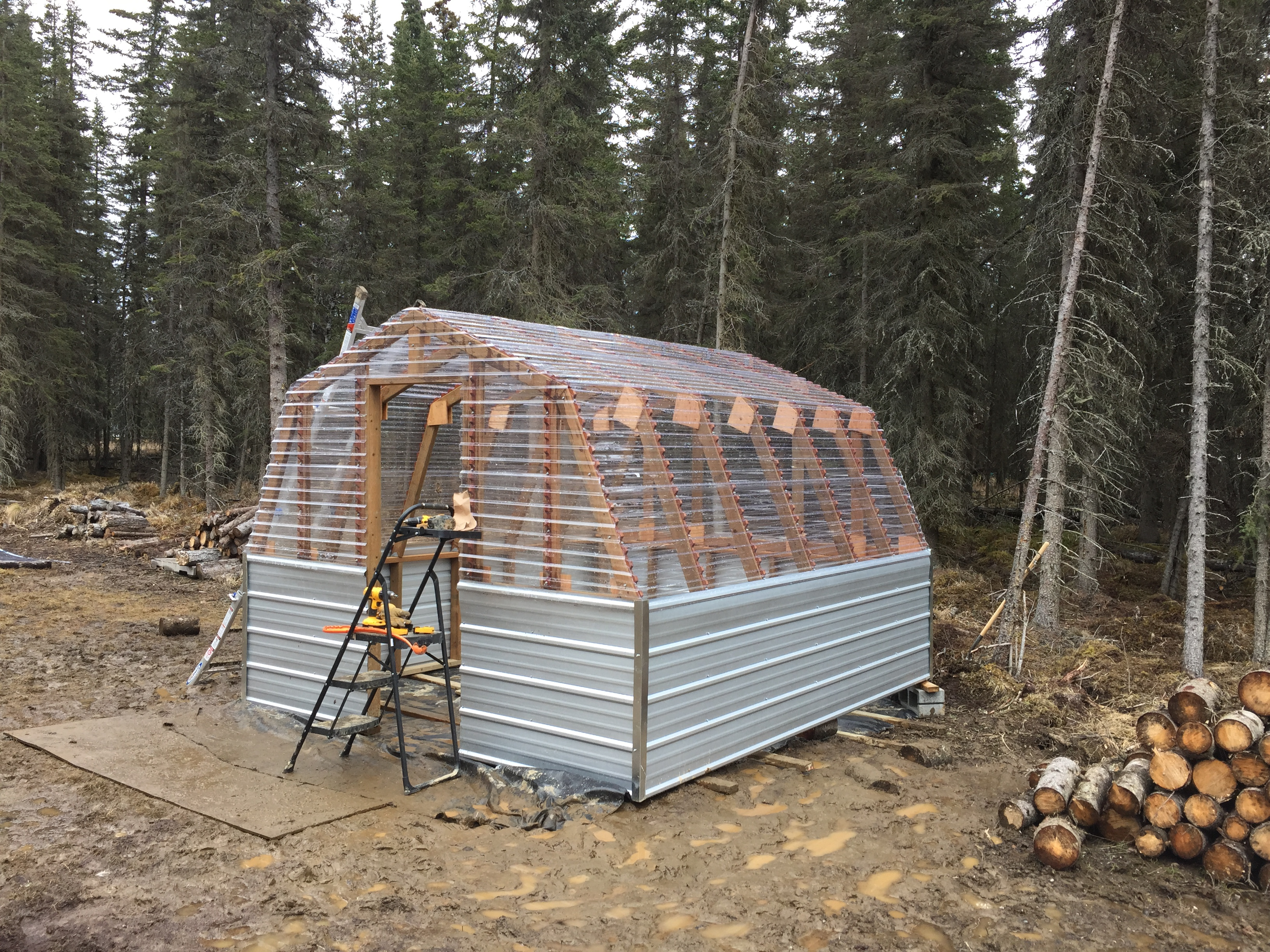 Ana White Barn Greenhouse On The Penninsula Diy Projects