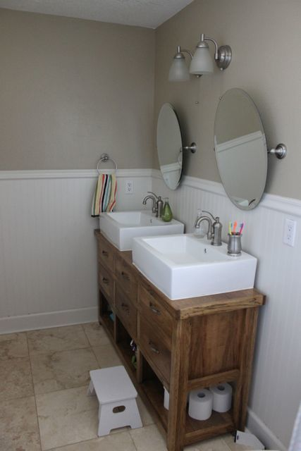 Bathroom Vanity Under $500 ana white | dresser turned bathroom vanity - diy projects
