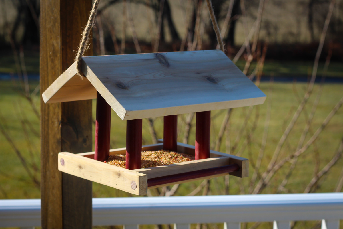 Simple Bird Feeder Ana White
