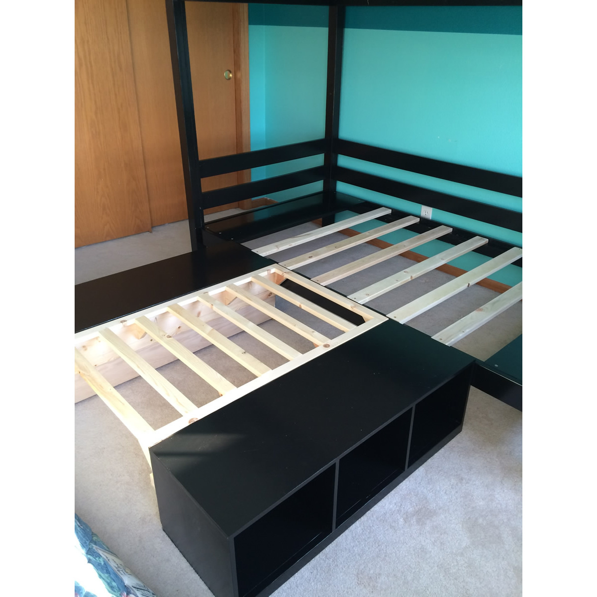 Ana White Convertible Classic Bunk Bed Diy Projects