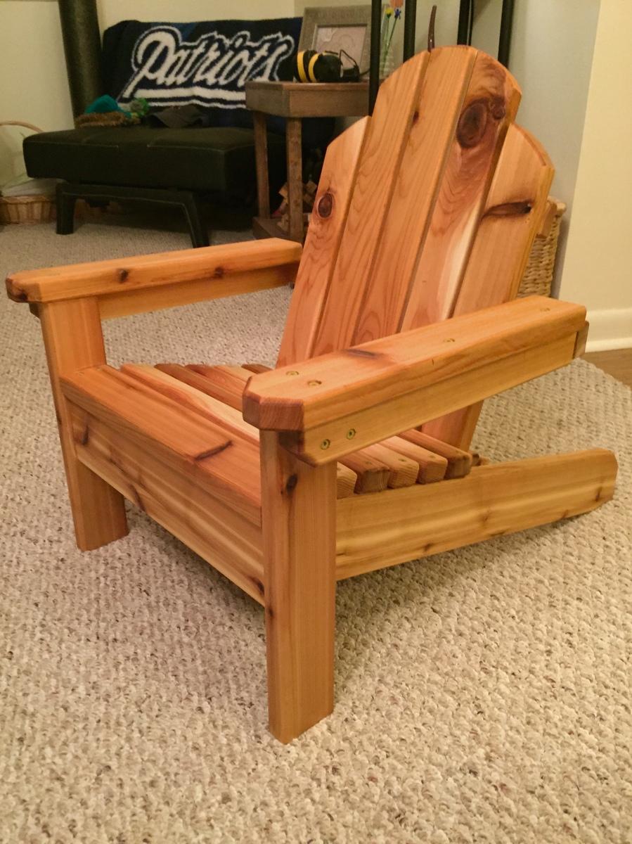 Mini Adirondack Chair Ana White