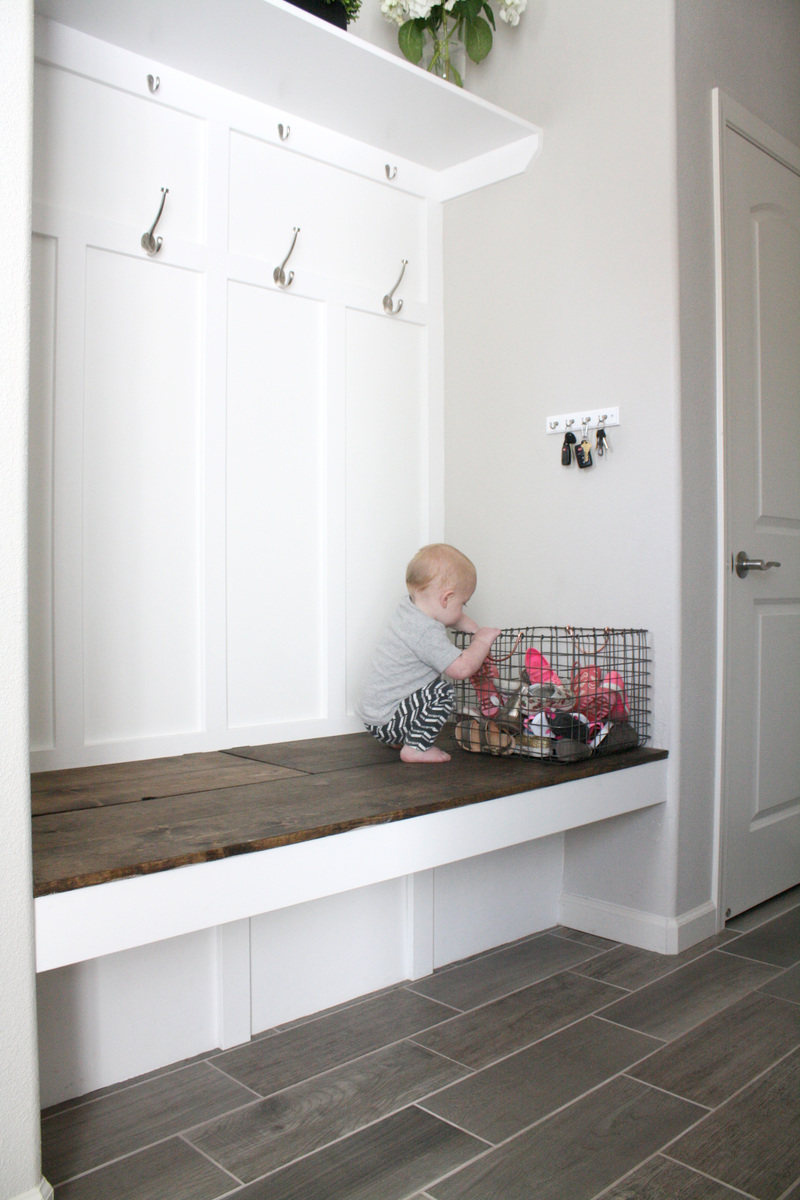 Ana White Mudroom Bench Diy Projects