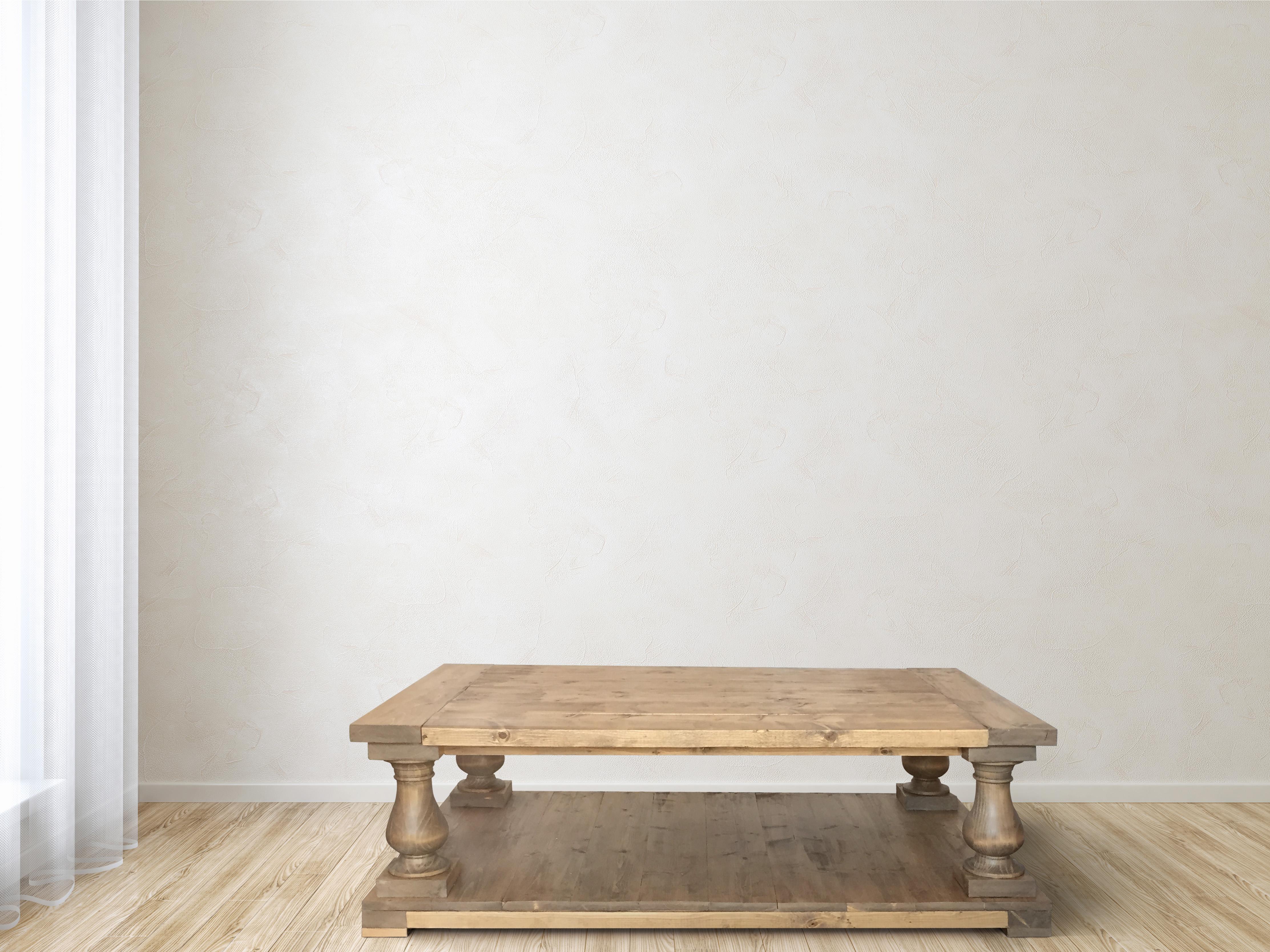 Balustrade Coffee Table Ana White