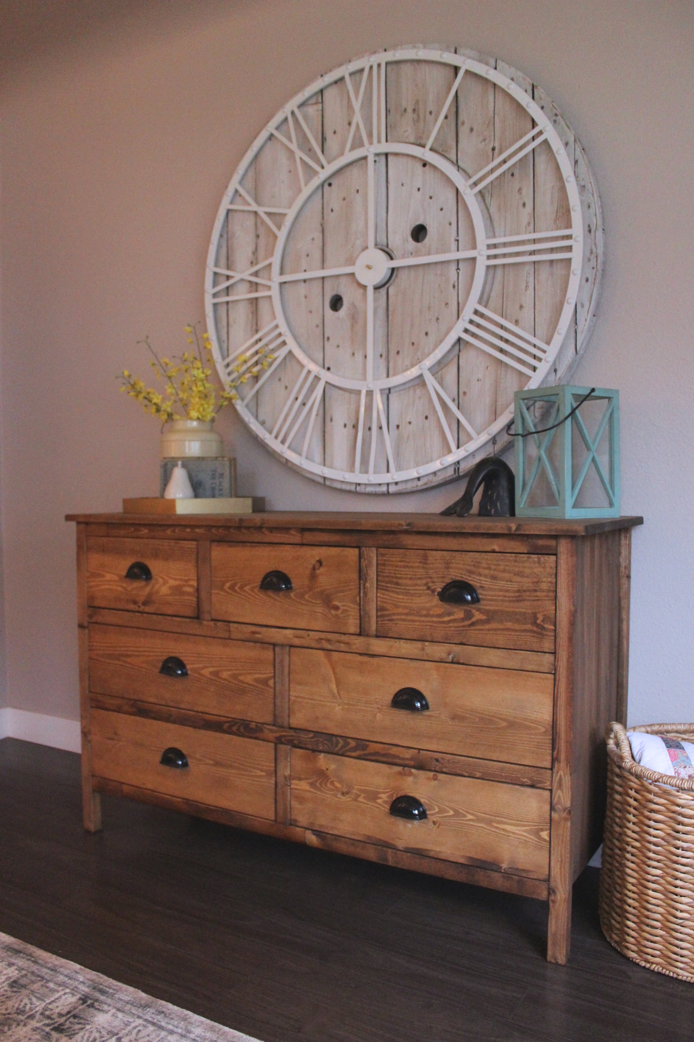 Ana White Rustic 7 Drawer Dresser Diy Projects
