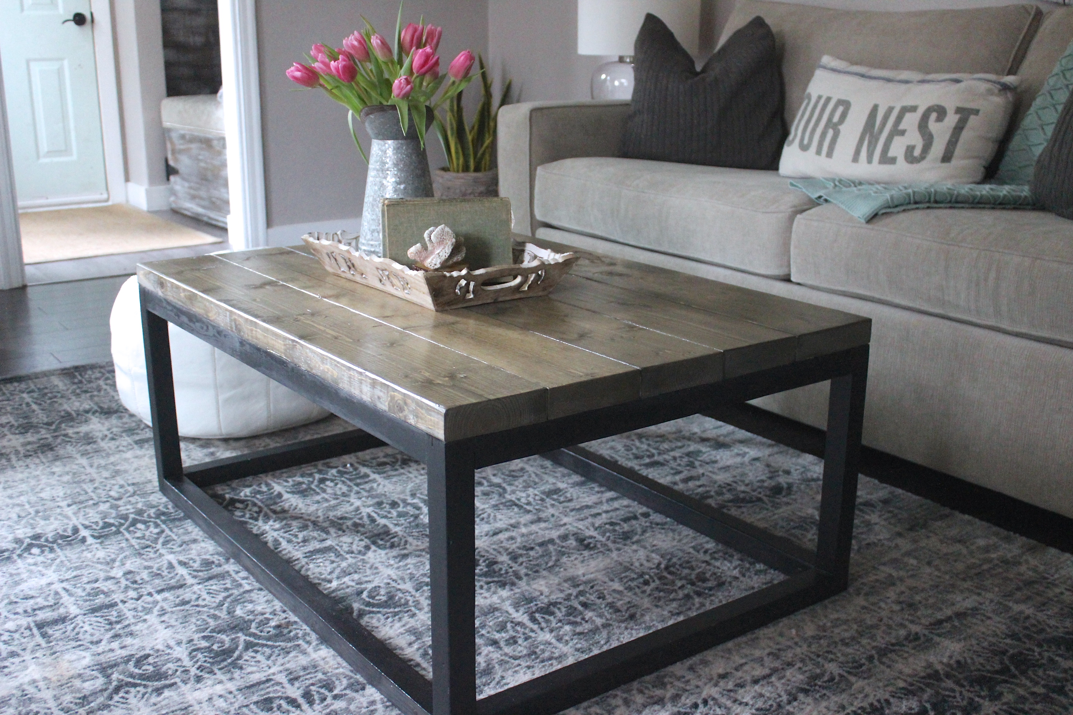 Industrial Coffee Table Ana White