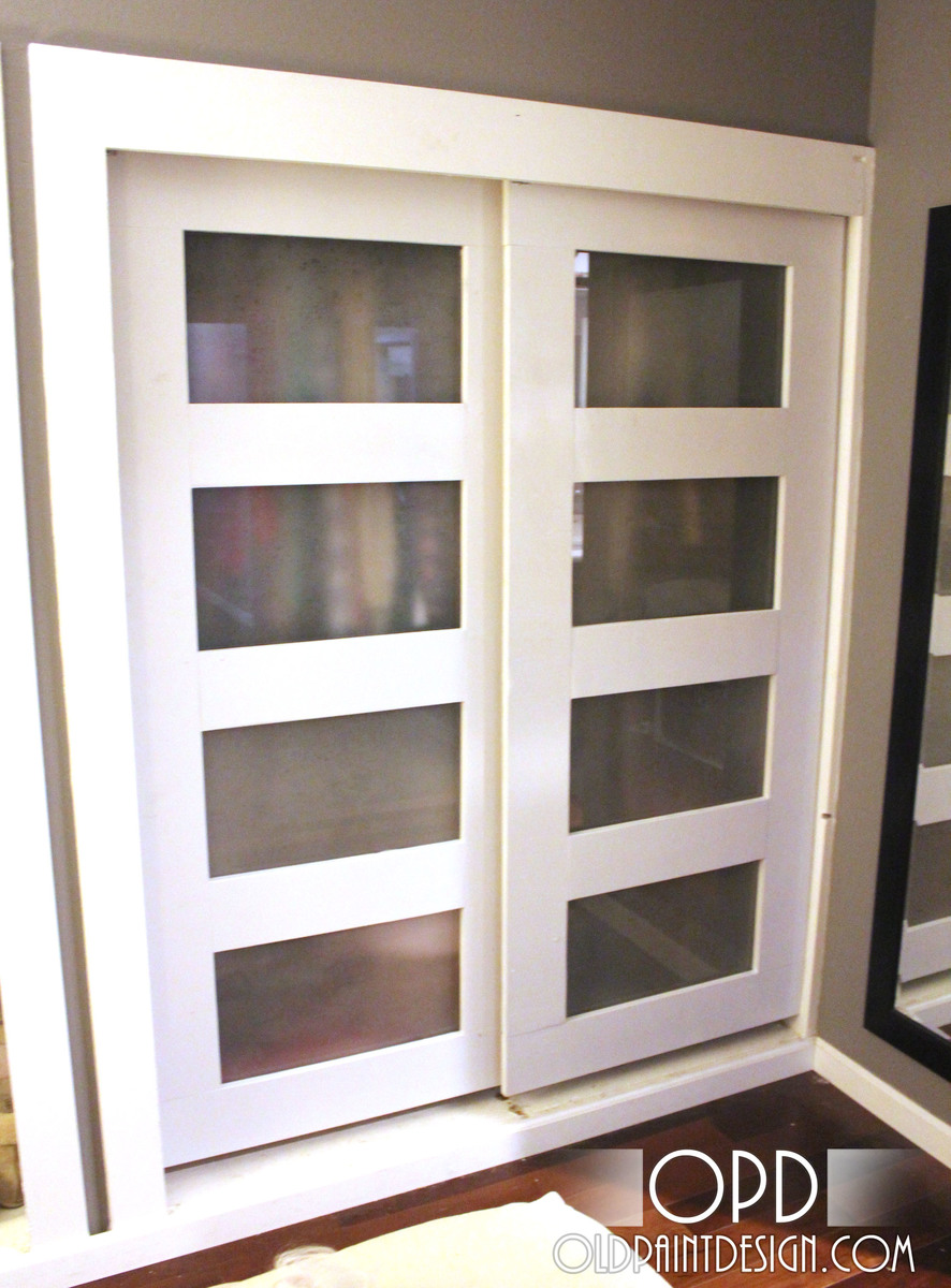 Ana White | Bypass Closet Doors - DIY Projects