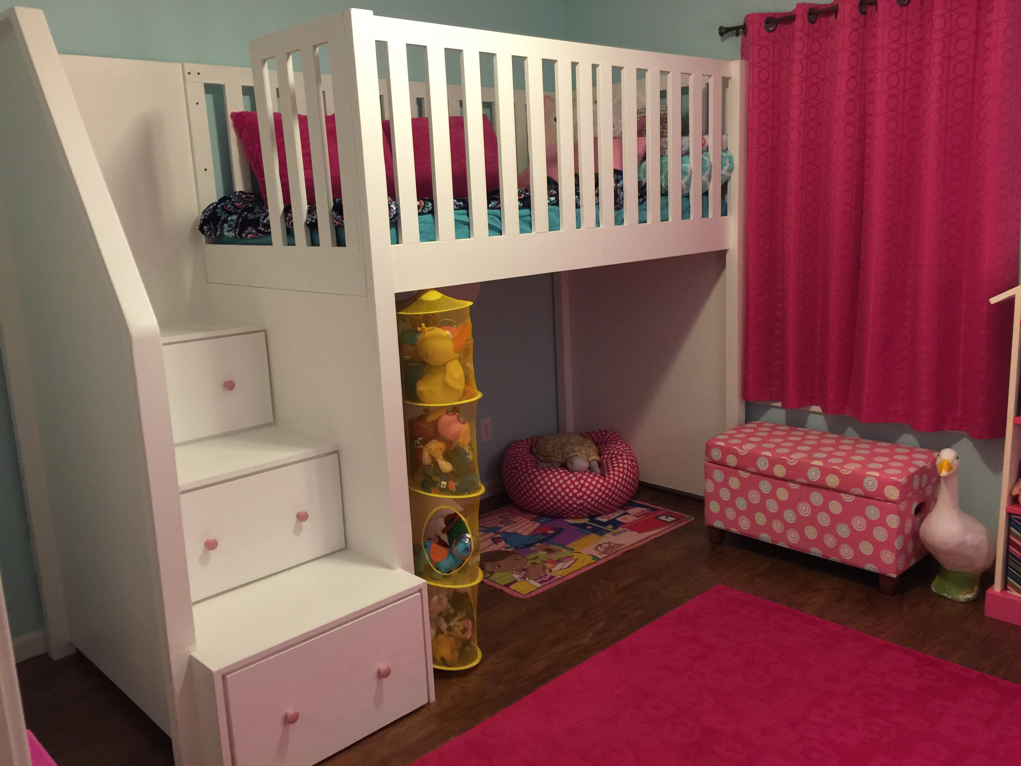 Ana White Loft Bed Diy Projects