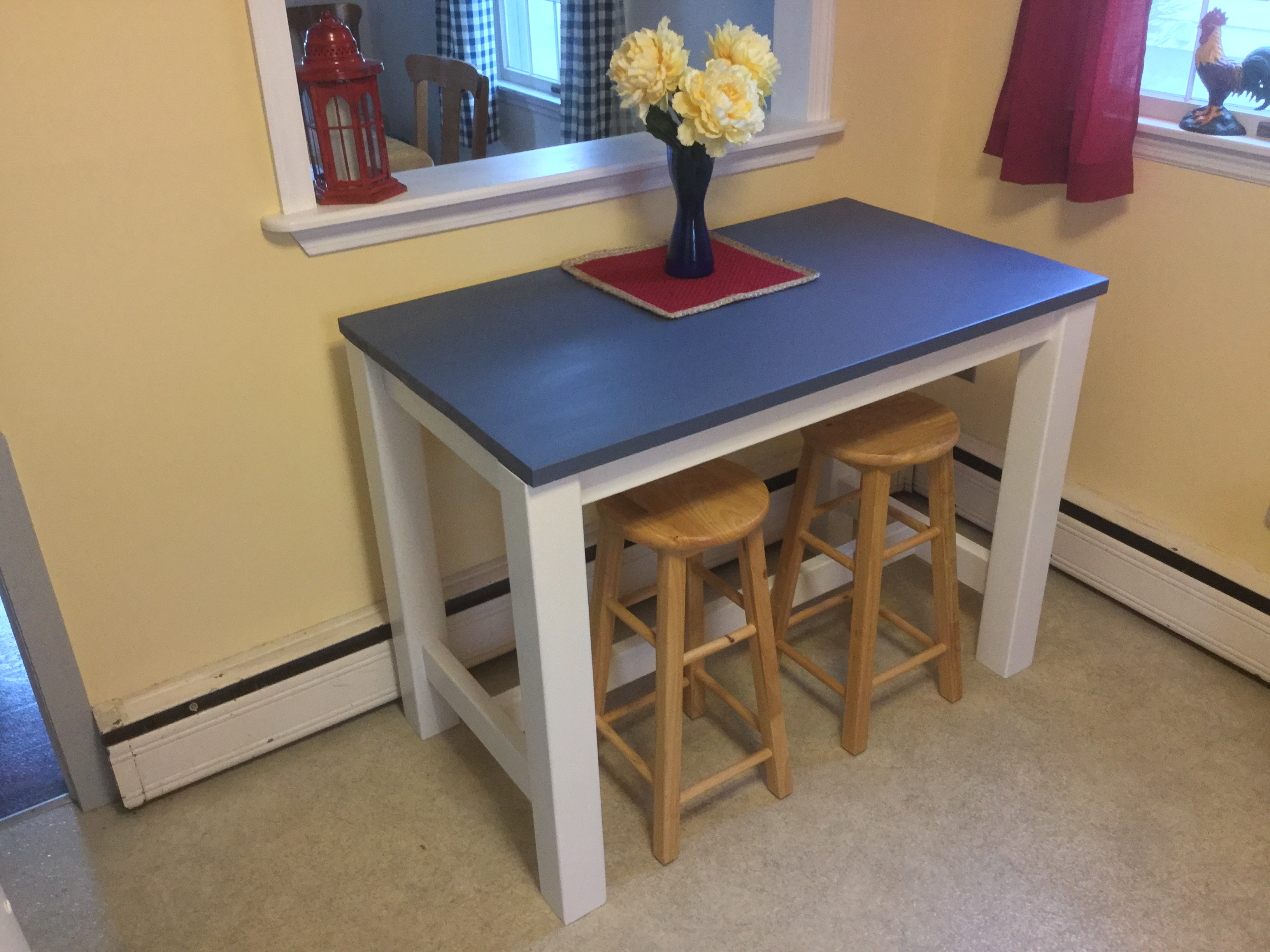 Ana White Kitchen Counter Height Table Diy Projects