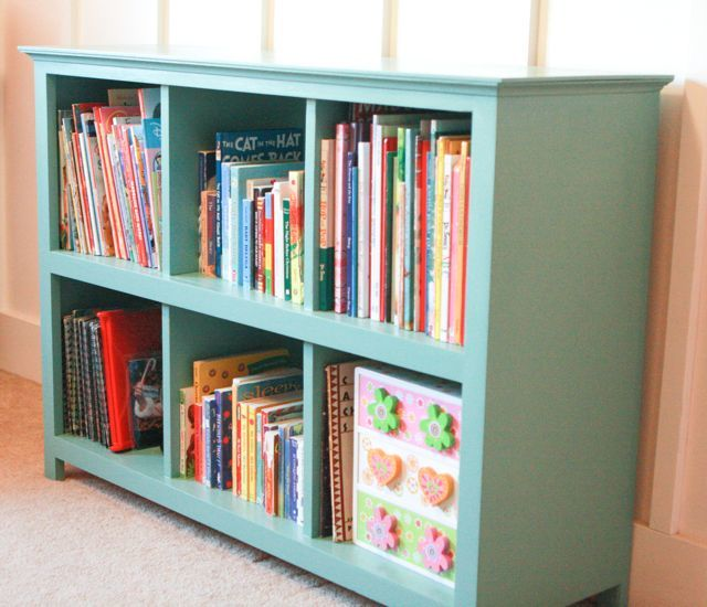 ana white another cube bookcase diy projects