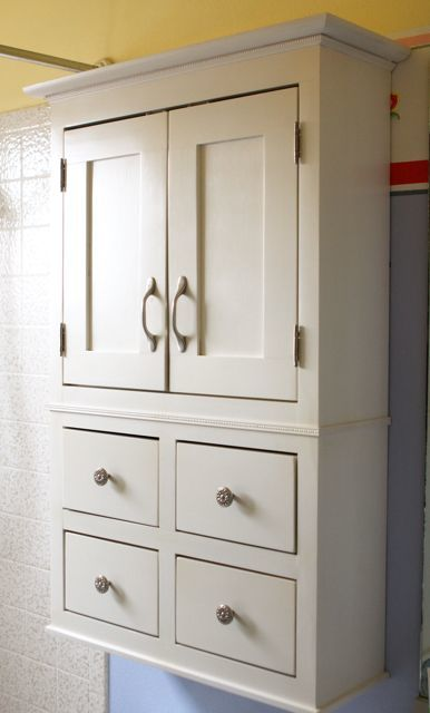 Ana White | A bathroom cabinet for all that stuff! - DIY Projects