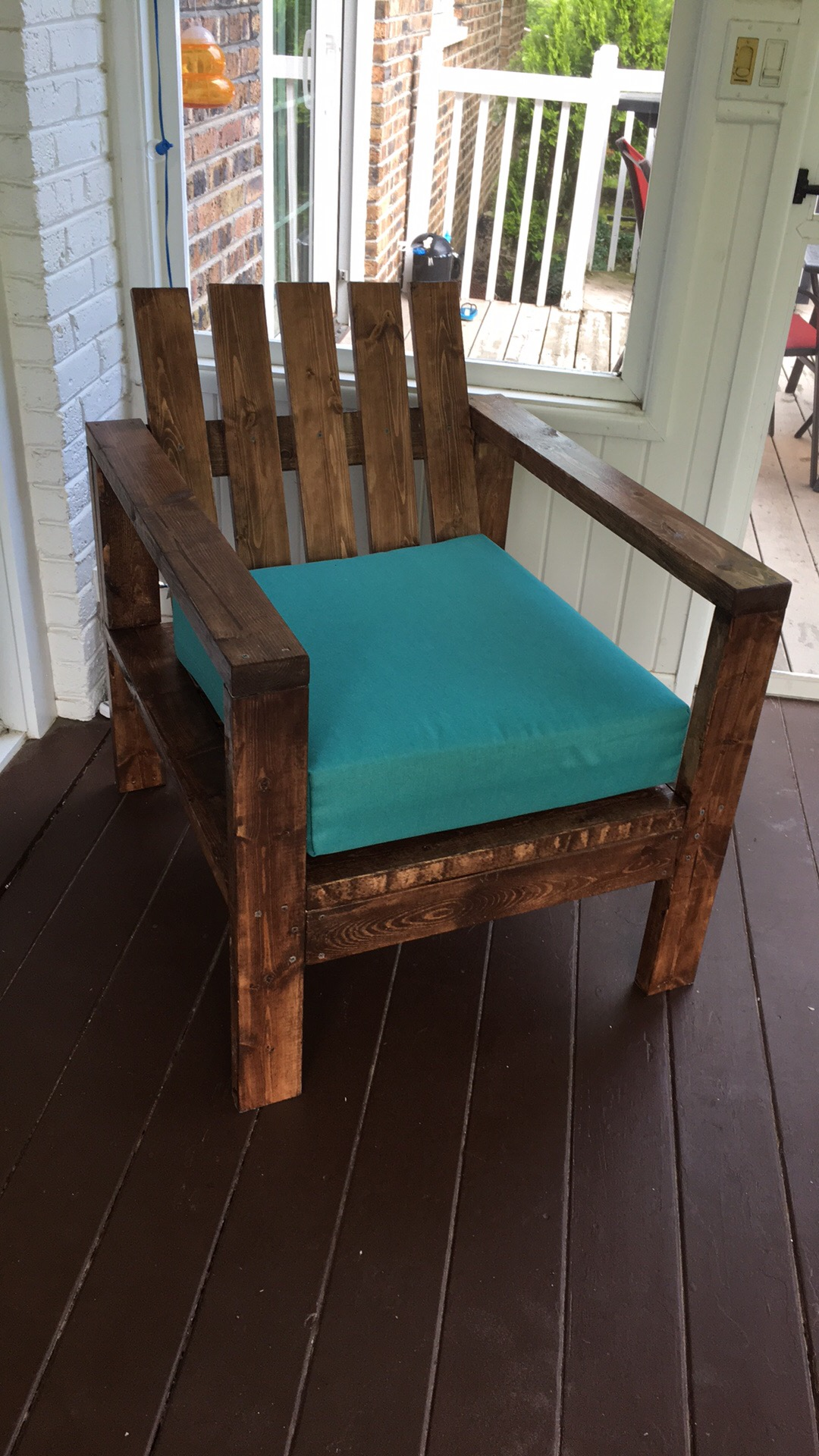 2x4 Chair to match outdoor sectional | Ana White