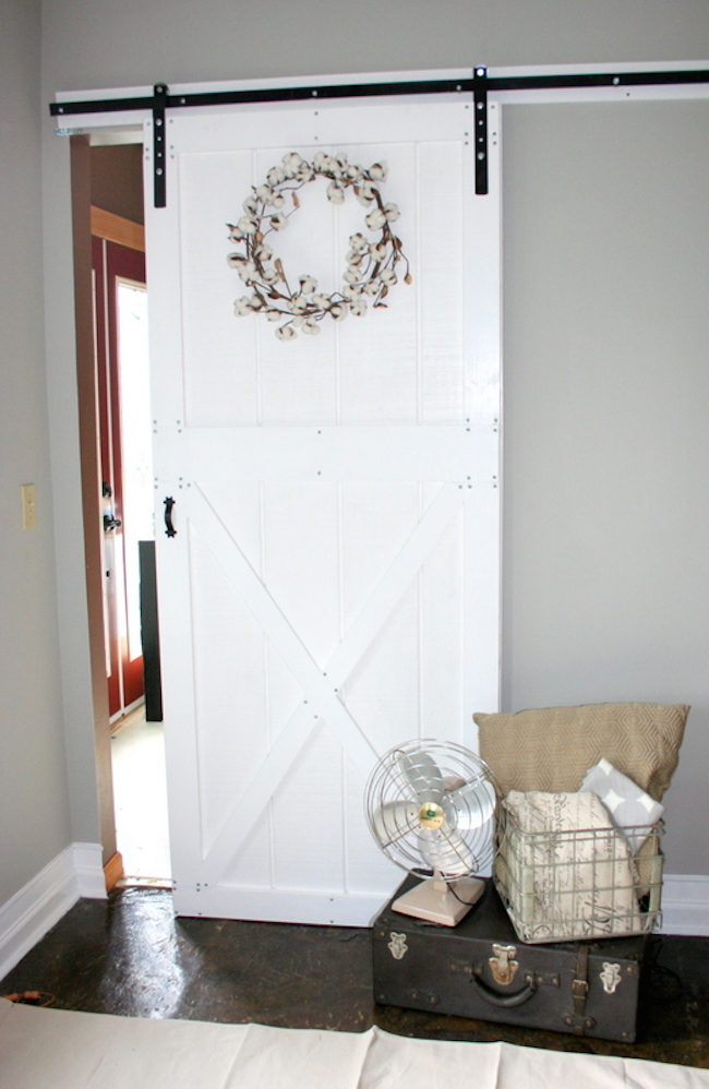 Ana White Diy Barn Door And Hardware For Around 80