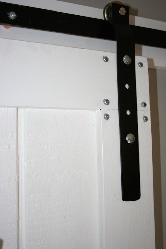 DIY Barn Door And Hardware For Around $80!
